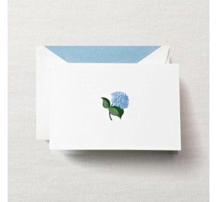 Crane Crane Pearl White Hydrangea Note