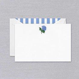Crane Crane Pearl White Hydrangea Card