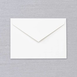 Crane Crane Pearl White Kent Envelope