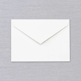 Crane Crane Pearl White Corinne Envelope