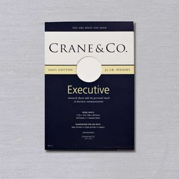 Crane Crane Pearl White Executive Paper