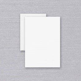 Crane Crane Pearl White Ruled Half Sheet
