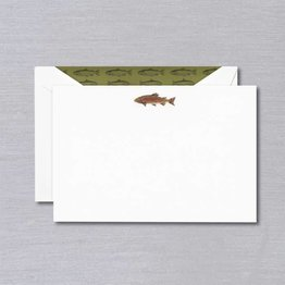 Crane Crane Pearl White Trout Card