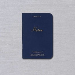 Crane Crane Navy Notebook Small