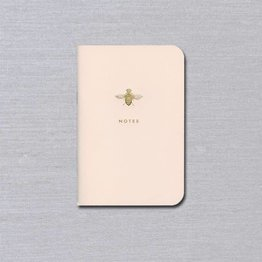 Crane Crane Pink Notebook Queen Bee Small