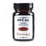 KWZ Ink Kwz Standard Brown #2 - 60ml Bottled Ink