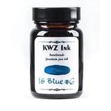 KWZ Ink Kwz Iron Gall Blue #6 - 60ml Bottled Ink