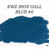 Kwz Ink Kwz Iron Gall Blue #6 -