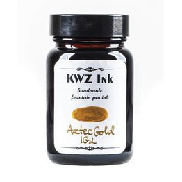 KWZ Ink Kwz Iron Gall Aztec Gold - 60ml Bottled Ink