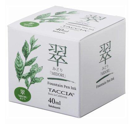 Taccia Taccia Midori Green - 40ml Bottled Ink