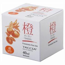 Taccia Taccia Daidai Orange - 40ml Bottled Ink