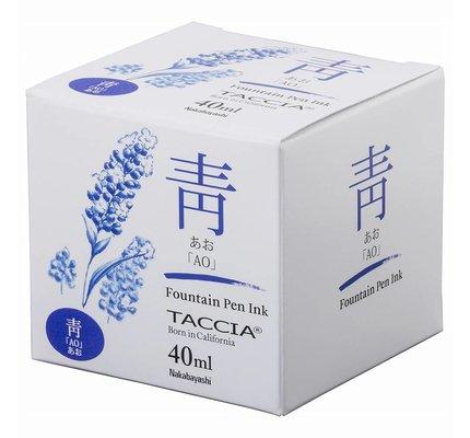 Taccia Taccia Ao Blue - 40ml Bottled Ink