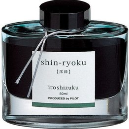 Pilot Pilot Iroshizuku Shin-Ryoku Forest Green - 50ml Bottled Ink