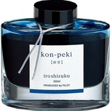 Pilot Pilot Iroshizuku Kon-Peki Cerulean Blue - 50ml Bottled Ink