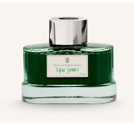 Faber-Castell Graf Von Faber Castell Viper Green - 75ml Bottled Ink