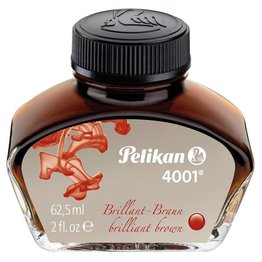 Pelikan Pelikan 4001 Brilliant Brown - 62.5ml Bottled Ink