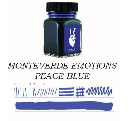 Monteverde Monteverde Peace Blue - 30ml Bottled Ink