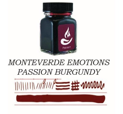 Monteverde Monteverde Passion Burgundy - 30ml Bottled Ink