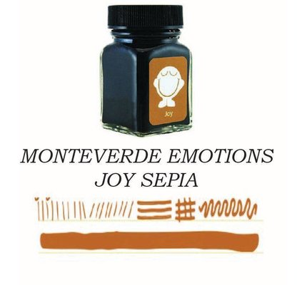 Monteverde Monteverde Joy Sepia - 30ml Bottled Ink