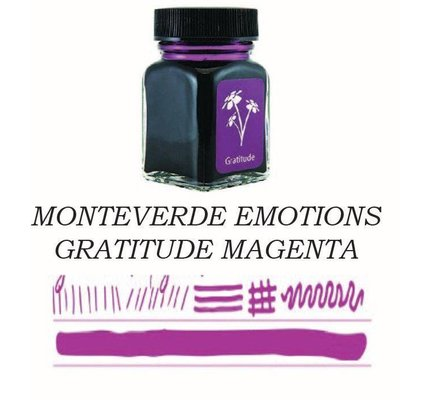 Monteverde Monteverde Gratitude Magenta - 30ml Bottled Ink