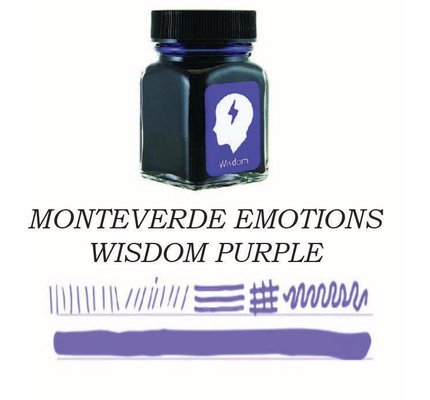Monteverde Monteverde Wisdom Purple - 30ml Bottled Ink