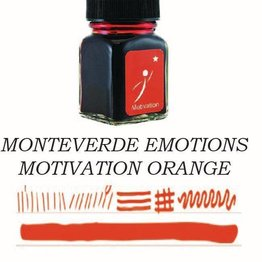 Monteverde Monteverde Motivation Orange - 30ml Bottled Ink