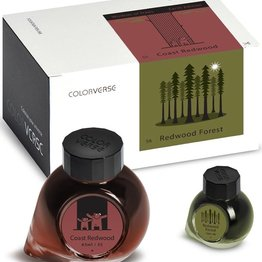 Colorverse Colorverse No. 55 & 56 Redwood Forest & Coast Redwood - 65ml + 15ml Bottled Ink