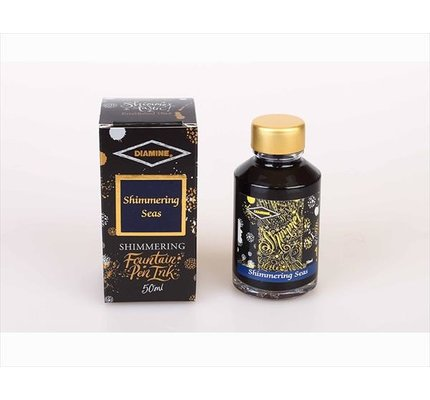 Diamine Diamine Shimmering Shimmering Seas (Gold) -
