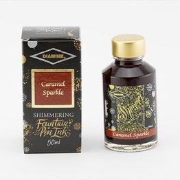 Diamine Diamine Shimmering Caramel Sparkle (Gold) -