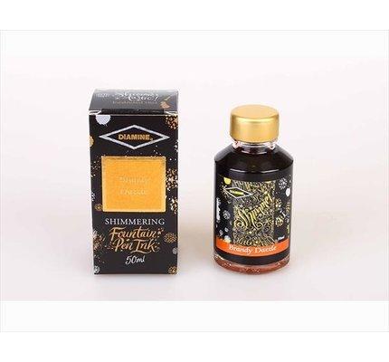 Diamine Diamine Shimmering Brandy Dazzle (Gold) -
