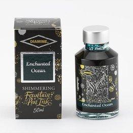 Diamine Diamine Shimmering Enchanted Ocean (Silver) -