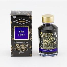 Diamine Diamine Shimmering Blue Flame (Gold) -