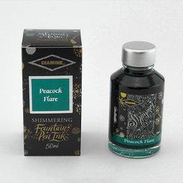 Diamine Diamine Shimmering Peacock Flare (Silver) -