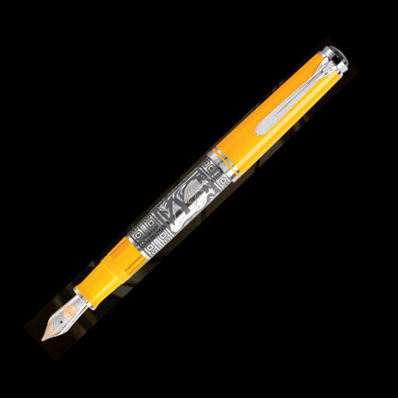 Pelikan Pelikan Toledo M710 Series Fountain Pen Yellow