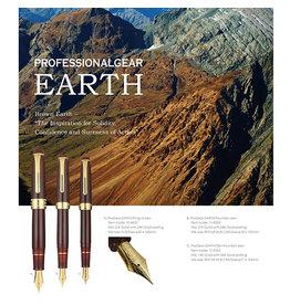 Sailor Sailor Professional Gear Standard Earth Fountain Pen 21K Gold Nib with Gold Platting