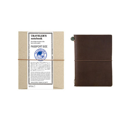 Traveler's Notebook Passport Size Brown