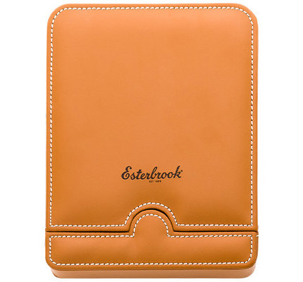Esterbrook Six Pen Nook Saddle with White Stitching