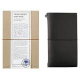 Traveler's Traveler's Notebook Regular Size Black