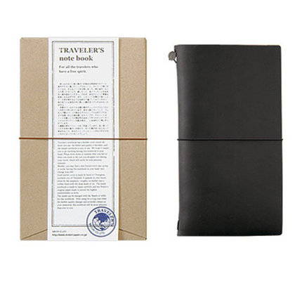 Traveler's Traveler's Notebook Regular Size Black