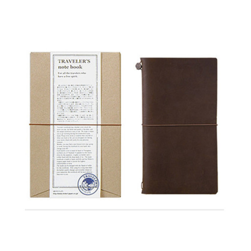 Traveler's Traveler's Notebook Regular Size Brown