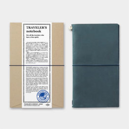 Traveler's Traveler's Notebook Regular Size Blue