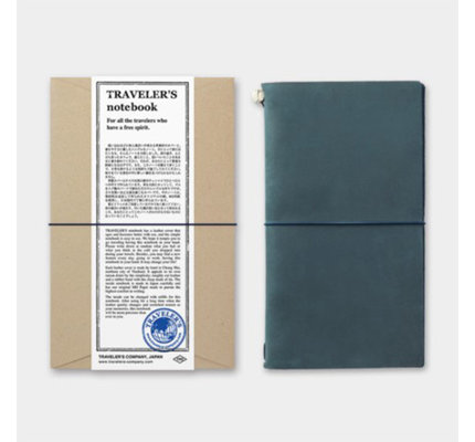 Traveler's Notebook Regular Size Blue
