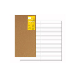 Traveler's Traveler's Notebook #001 Regular Refill Lined