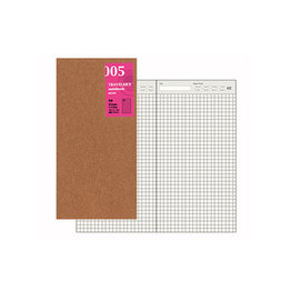 Traveler's Traveler's Notebook #005 Regular Refill Free Diary