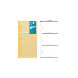 Traveler's Traveler's Notebook #007 Regular Refill Card File