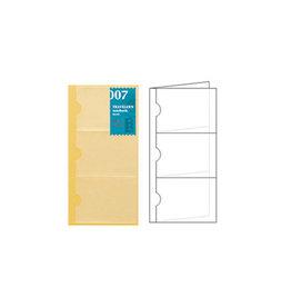 Traveler's Traveler's Notebook #007 Regular Refill Card File