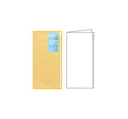 Traveler's Traveler's Notebook #008 Regular Refill Zipper Case