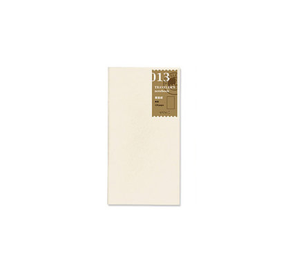 Traveler's Traveler's Notebook #013 Regular Refill Lightweight Paper