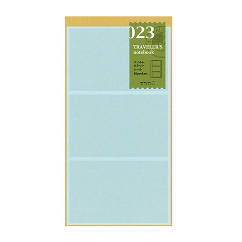 Traveler's Traveler's Notebook #023 Regular Refill Film Pocket Sticker