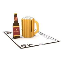 Lovepop Beer Classic 3D Card